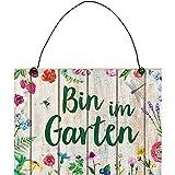 Moses 87123 Blatt & Blüte Gartenschild