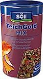 Söll  18808 Teich-Gold Mix - Alleinfuttermittel für alle Teichfische - Fischfutter - Gartenteich,...