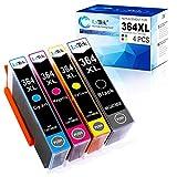 LxTek Kompatibel fr HP 364 XL 364XL Druckerpatronen fr HP Deskjet 3070A 3520 Officejet 4620 4622...