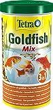 Tetra Pond Goldfish Mix, Hauptfuttermischung für die tägliche Fütterung aller Goldfische im...
