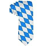 Men 'S Casual Party Krawatten, Business Meeting Hochzeitsanzug Krawatte, Bayern Flagge Krawatte