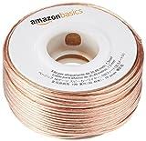 AmazonBasics Lautsprecherkabel 1,3 mm / 16 Gauge, 30,48 m (100 Fu)