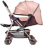 SYue Baby Trolley Baby Trolley Markise Neugeborene Kinderwagen Faltbare Can sitzen und liegen...