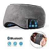 FJFJFJ Kabelloser Bluetooth-Stereo-Schlafkopfhörer mit integrierten Kopfhörern für Schlafmaske,...