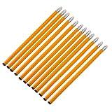Bleistifte Packen Holzmantel Hb Pencils Orange Farbe Black Core Crude Mit Weißen Radiergummi Kopf...