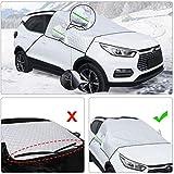 Aoweika autoscheibenabdeckung, Eisschutzfolie fr Winter Sommer, Frontscheibenabdeckung Auto Winter...