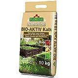 Florissa Natürlich 58669 BIO-AKTIV Kalk (10 kg) | für einen moosfreien Rasen | für Gemüse- und...