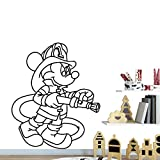 Tianpengyuanshuai Art Sticker Wasserdichter Wandaufkleber Entfernbarer Wandaufkleber Art Deco Home...