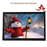 ASHATA 14 Zoll Tragbarer DVB-T/T2 Fernseher, LCD HDTV Digital Analog Fernseher Auto ATV/UHF/VHF...