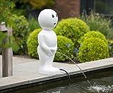 Ubbink BOY I Wasserspeier Teichfigur Weiß 67cm