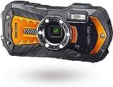 Pentax RICOH WG-70 Orange wasserdichte Kamera Hochauflösende Bilder mit 16 MP Wasserdicht bis 14 m...