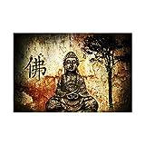 Unbekannt Buddha-Malerei Drucke auf Leinwand Moderne Wohnkultur Wandkunst Bilder für Wohnzimmer...