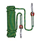 YXIAOL Outdoor Kletterseil 10 Mm Home Fire Emergency Escape Rope Multifunktionale Schwere Seil Für...