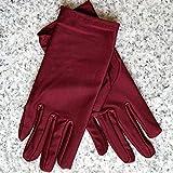 IMmps Damen Super Elastic Vollfinger Driving Gloves-T1404weinrot