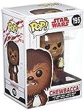 Funko 14748 No Bobble: Star Wars: E8 TLJ: Chewbacca w/PORG (POP 7)