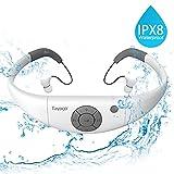 Tayogo MP3-Player, wasserdicht, mit Kopfhrern, 8 GB IPX8 Hi 3 m unter Wasser schwimmen Wasserdicht...