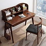 Kinderschreibtisch Schlafzimmer Studenten Schreibtisch mit Bücherregal aus Holz Arbeitstisch...