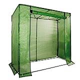 Noor Tomatenhaus-Gewächshaus Premium I 200 X 75 X 175 cm I UV-Gitterfolie optimal für Ihre...