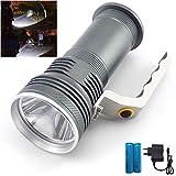 SerBlue Q5 wiederaufladbare Taschenlampe, wasserdichte Taschenlampe, Wandern Taschenlampe, 18650...