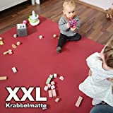 Wunschkind XXL Krabbelmatte | Krabbelunterlage | Made in Germany | Anti-Rutsch | Öko-Tex 100...
