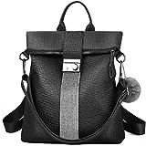 Vbiger Damen Rucksack Elegant Leder PU Anti-Diebstahl Tagesrucksack Schultaschen Reiserucksack für...