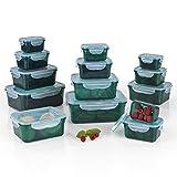 GOURMETmaxx 02432 Frischhaltedosen Klick-it, Luftdichte Aufbewahrungsboxen, 28 Teile, Geeignet für...