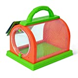 XIAN Insekten-Kasten-Kinderbeobachtungs-Haustier-Fütterungskäfig-Plastikinsekten, die...