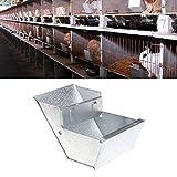 Oce180anYLV Kreativer Kaninchenstall mit Tränke, Futterschüssel, Zubehör für Tiere