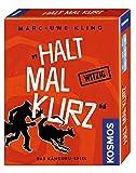 KOSMOS 740382 - Halt mal kurz, Das Känguru-Spiel, Witziges Kartenspiel von Bestsellerautor Marc-Uwe...