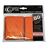 Ultra Pro pro-matte Eclipse Standard Sleeves (Hüllen) – Orange (80 sleeves, hüllen) – 85113