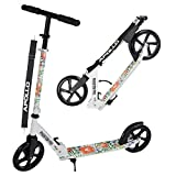 Apollo XXL Wheel Scooter - Phantom Pro City Scooter, Klappbarer City-Roller, höhenverstellbar,...