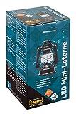 Idena 30134 - Retro Design Öllampe, LED Mini Laterne mit 12 sehr hellen LED, Dimmfunktion, Batterie...