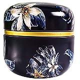 yanqiu Truthed Creative Printing Teedosen Dosen, versiegelt, Haushalt, rund, tragbar,...