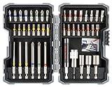 Bosch Professional 43 tlg. Schrauberbits und Steckschlüssel Set (Zubehör Bohrmaschine)