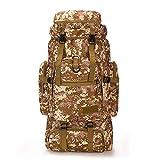 Poooooi Bergsteiger Rucksack Taktische Militrische Marschtasche Outdoor Camping Reisetasche 60L ~...