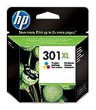 HP 301XL Farbe Original Druckerpatrone mit hoher Reichweite fr HP Deskjet, ENVY, OfficeJet