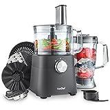 VonShef 750W Küchenmaschine Multifunktions-Standmixer – Mixer, Zerkleinerer, Entsafter,...