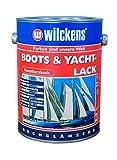 Wilckens Boots & Yachtlack 2,5 l Bootslack Kunstharz-Klarlack Kunstharzfarbe Yachtlack