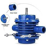 SALAKA Handbohrgerät Wasserpumpe 1PC Blau Selbstansaugende Förderpumpe Connect Piped Kreiselpumpe...