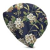 NUBOMINI Rhododendron Unisex Herren Damen Beanie Warm Outdoor Hat Skullies Beanies Chemo Hat,...