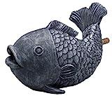 Oase Fisch Wasserspeier, grau