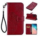 XQZK Samsung Galaxy S11e 6.9 Zoll Hlle Leder Flip Case Tasche Eule Wallet Handy Samsung Galaxy S11e...