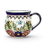 Bunzlauer Keramik GLÜHWEINTASSE Glühweinbecher Tasse Becher Rumbecher 300 ml