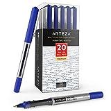 Arteza Gelstifte, 20 blaue Gelroller, wasserfeste Gelschreiber mit mittelfeiner 0,7 mm Stiftspitze,...