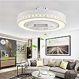 Fan Deckenleuchte kreative moderne Deckenleuchte LED Dimmbar deckenventilator mit beleuchtung und...