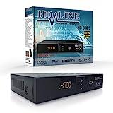 HD-LINE HDMI Receiver Satellit HD Digitaler Satelliten Receiver HDMI DVB S2 Receiver für Sat...