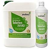 awiwa Sanitrflssigkeit fr Campingtoilette & Toiletten-Zusatz Chemie WC, 1 l
