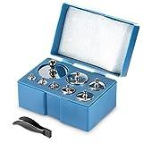 Neewer 2er-Pack 1000 Gramm Präzisionsstahlbalancen Waagschale-Kalibrierungs-Gewicht Set Set (2 *...