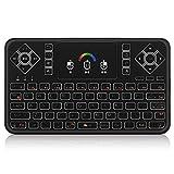 JKZX Q9 Rf-2.4G drahtlose Tastatur-Maus Combo Fernbedienung w/Touchpad Bunte...