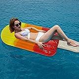 Unbekannt Dreifarbiges transparentes EIS am Stiel Schwimmende Reihe Wasser Aufblasbares Schwimmbett...